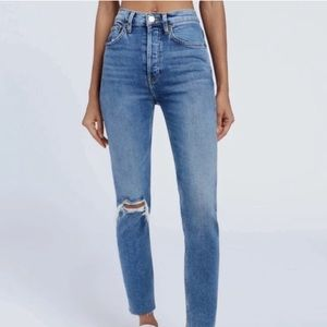 Re/Done 24 Highrise Jeans